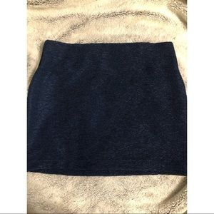BCBG Generation navy fitted skirt